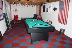 furniture modern small basement living room ideas with pool table