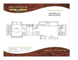 prevost floor plans 2014prevostmillenniumh3 10080
