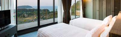 Two Bed Room by Ocean View Two Bedroom Pool Villa Sunsuri Phuket Resort Luxury