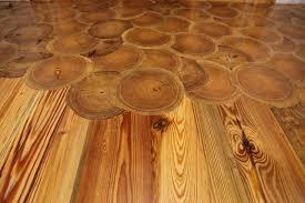 log cabin floors log end flooring building