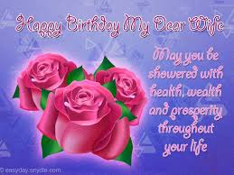 birthday wishes for wife easyday