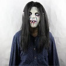 horror halloween costumes amazon com evinis eco friendly material halloween mask sadako