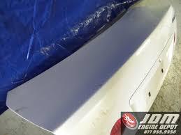 lexus altezza parts 98 05 toyota altezza lexus is300 white oem sxe10 trunk lid jdm