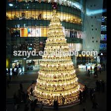 new design outdoor led tree ornaments mall