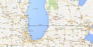 Map Of Lower Michigan by 8 Mile Road Is Eight Miles From Where Michigan Radio