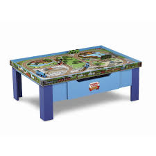 Play Table For Kids Furniture Home Kmbd Train And Track Activity Table Featuretrain