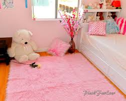 Teppich Boden Schlafzimmer Rosa Monglian Fur Hochflor Faux Fur Throw Teppich Teppich
