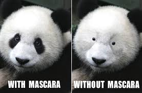 Panda Mascara Meme - goodbye post workout panda eyes katie bulmer cooke