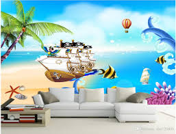 pirate wall murals image collections home wall decoration ideas 3d wallpaper custom photo mural sea view pirate ship children room 3d wallpaper custom photo mural