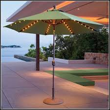 Patio Umbrellas With Led Lights Led Lights For Patio Umbrella Patios Home Decorating Ideas