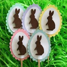 Easter Cupcake Decorations Pinterest by 119 Best Easter Toppers Images On Pinterest Modeling Easter