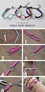 bracelet diy images Diy circle suede bracelets with wwdmagic diy pinterest jpg