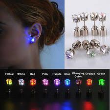 led earrings cubic zirconia alloy 18k fashion earrings ebay