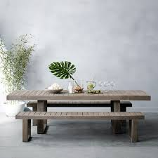 Weathered Wood Dining Table Portside Dining Table 58