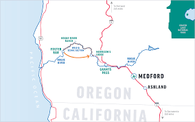 Medford Oregon Map by Before You Go Rogue River Rafting O A R S