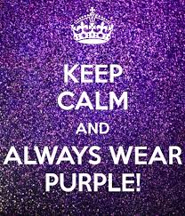 Black Purple Pink Green Peace by Day 136 5 16 13 Wear Purple For Peace Day Calming Passion And