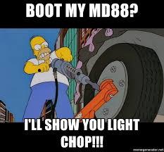 Light Show Meme - boot my md88 i ll show you light chop deltaboot meme generator