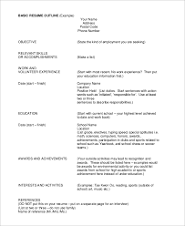 Achievements In Resume Sample by Examples Of Basic Resumes Sample Basic Resume 21 Documents In