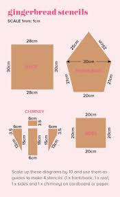 House Measurements How To Make Gingerbread House Pieces