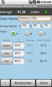 grade calculator android apps on google play