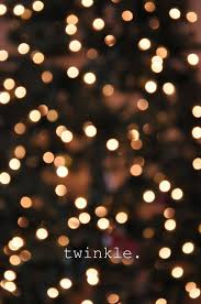 twinkle lights happiness is