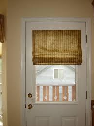 magnetic roman shade for metal door window coverings pinterest