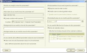 using parameters