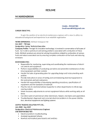 Electrician Resume Example Combination Electrician Resume Template