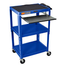 stand up computer desk mobile computer cart