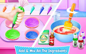 Just Like Home Design Your Own Cake by Cupcake Maker Rainbow Chef Android Apps On Google Play