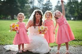 flower girls coral u0026 gray wedding rustic wedding flower