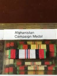 afghanistan ribbon us afghanistan caign medal ribbon slide on ebay