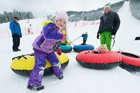 winter activities in jackson snow tubing snow king