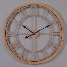 Grande Horloge Murale Carrée En Bois Vintage Achat Horloge Murale Pour Cuisine