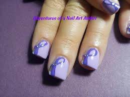 adventures of a nail art addict pancreatic cancer purple ribbons