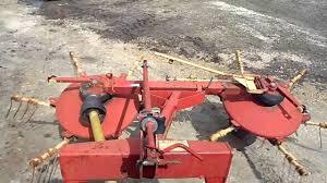 new holland 254 rotary rake tedder for sale youtube