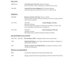 Single Page Resume Format Download Awesome To Do One Page Resume Examples 16 Resume Template More