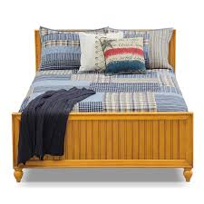 colorworks youth full bed honey pine value city furniture click to change image