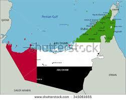 arab map united arab emirates map stock images royalty free images