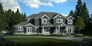 craftsman style home woodinville house carl colson architect