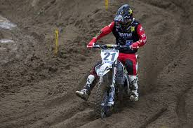 lucas pro motocross jason anderson out for the remainder of lucas oil pro motocross