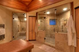 Walk In Bathroom Shower Designs Big Walk In Showers Here S A Large Walk In Shower That Has No