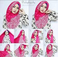 tutorial hijab paris zaskia 32 tutorial hijab segi empat paris simple dan modis 2018 tutorial