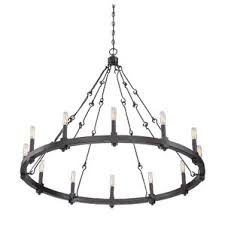 Black Metal Chandeliers Rustic Chandeliers You U0027ll Love Wayfair