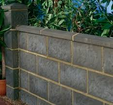 solid concrete block for garden enclosures for walls stone