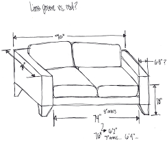 sofa lengths and widths delivery dimensions amazing standard