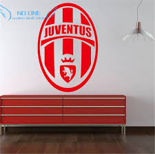 aliexpress com buy wall art home decoration removable juventus