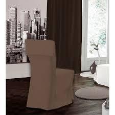 housse de chaise housse de chaise taupe 45 50cm