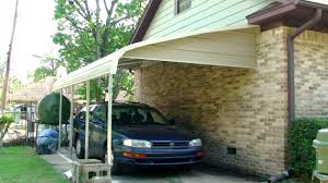 attached carport carport installation 2012 youtube