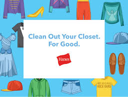 Clean Out Your Closet Clean Out Your Closet For Good Hanes Wants To Help Too